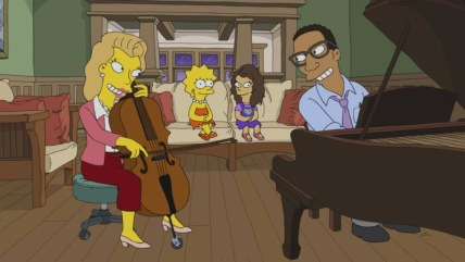 """The Simpsons"" The Girl on the Bus Technical Specifications"