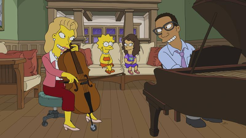"""The Simpsons"" The Girl on the Bus"