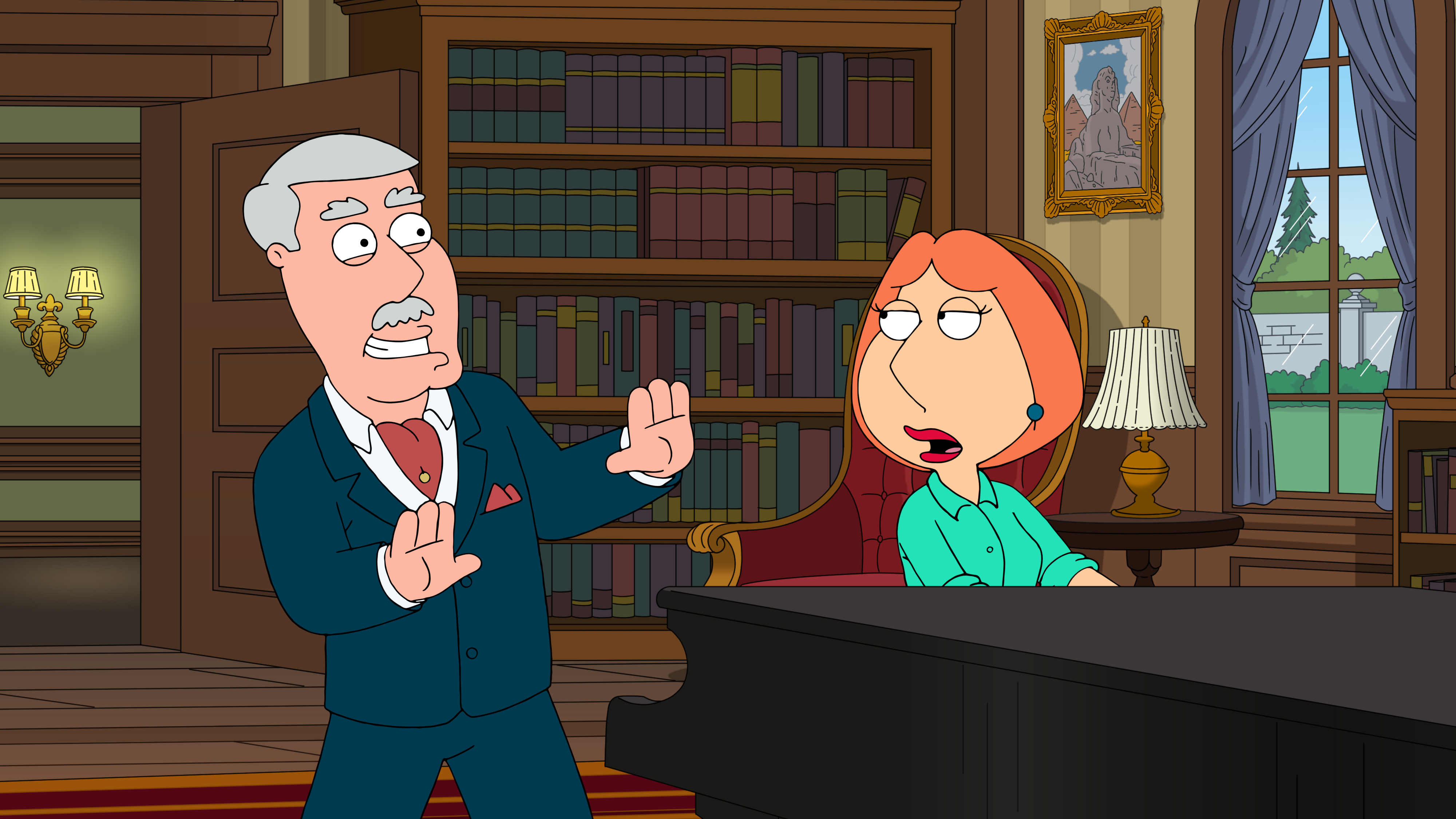 """Family Guy"" Regarding Carter"