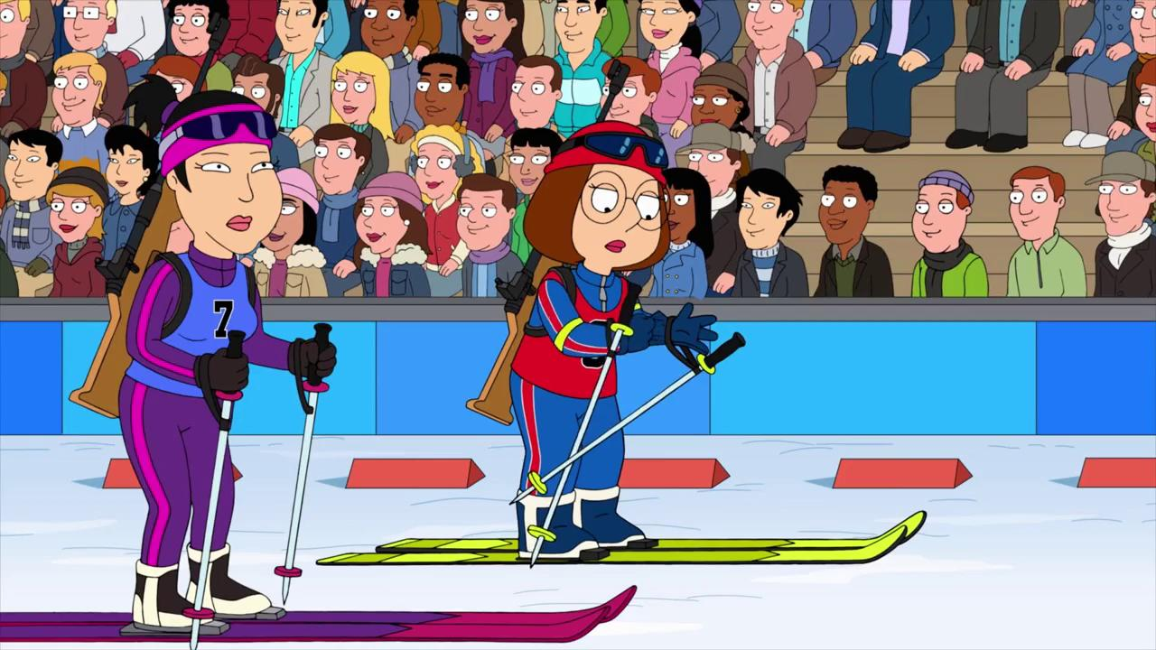 """Family Guy"" The Griffin Winter Games"