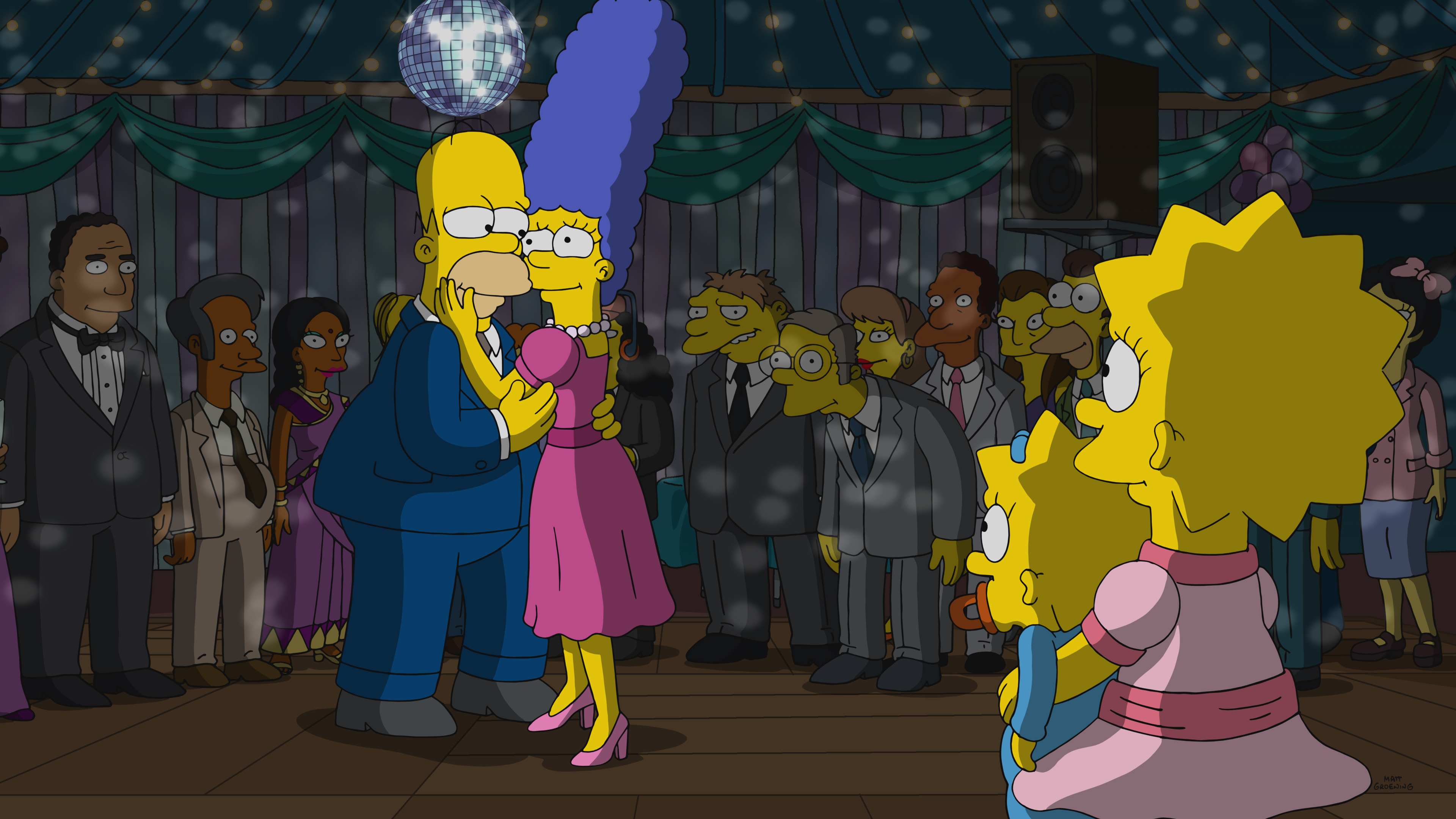 """The Simpsons"" I'm Dancing as Fat as I Can"