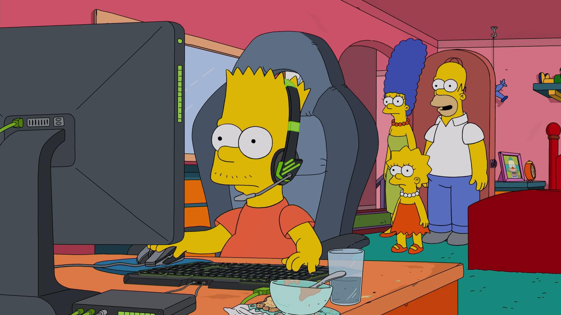 """The Simpsons"" E My Sports"