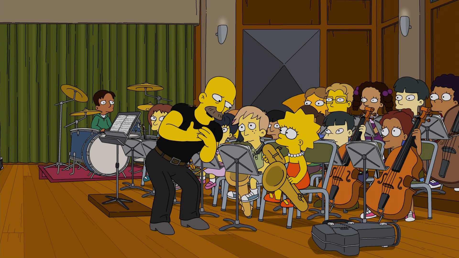 """The Simpsons"" Girl's in the Band"