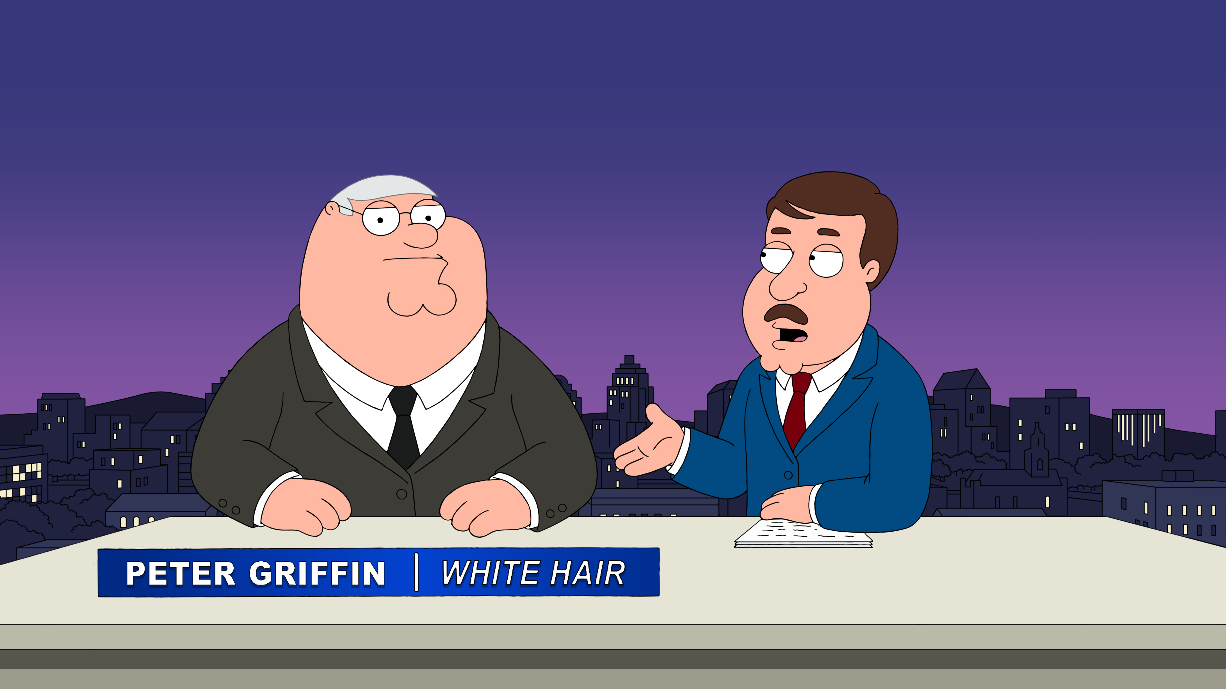 """Family Guy"" Hefty Shades of Gray"