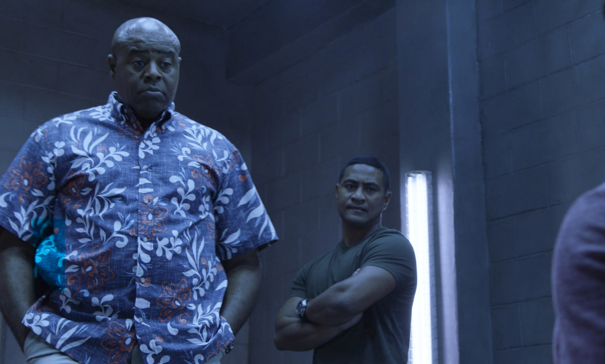 """Hawaii Five-0"" Ai no i ka 'ape he mane'o no ko ka nuku. 