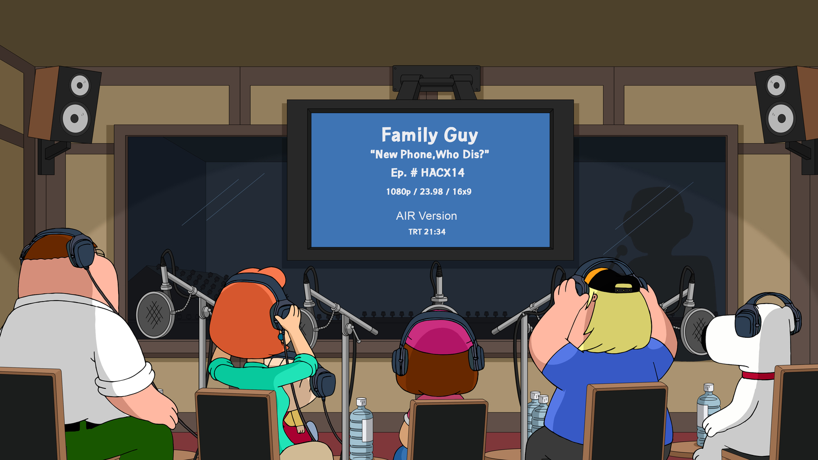 """Family Guy"" You Can't Handle the Booth"